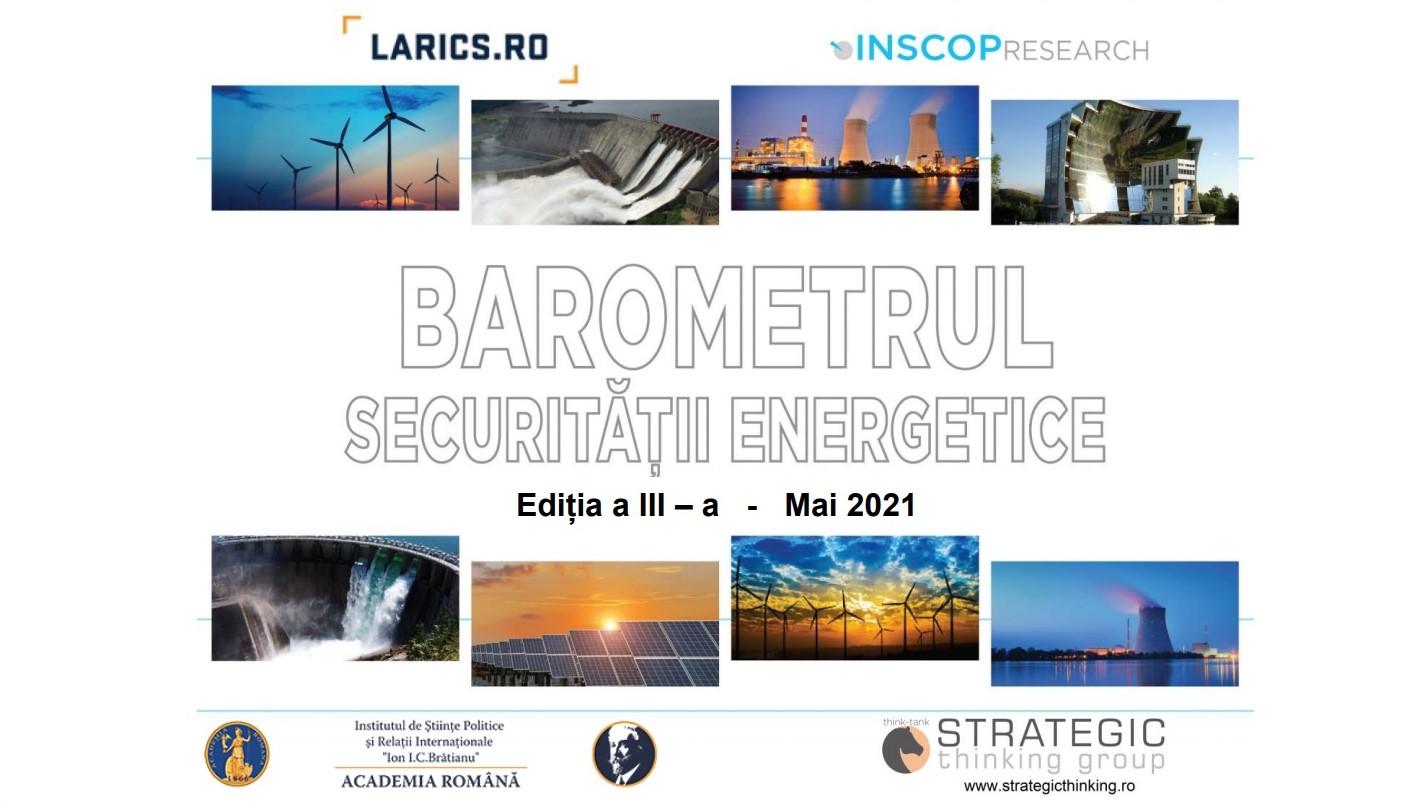 IUNIE 2021 – BAROMETRUL SECURITĂȚII ENERGETICE . EDIȚIA A III-A, IUNIE 2021. PREZENTAREA INTEGRALĂ A DATELOR SOCIOLOGICE